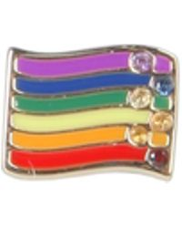 Marc Jacobs - Rainbow Pin With Crystals - Lyst