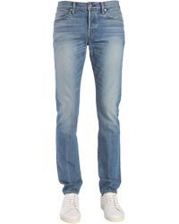 Tom Ford - JEANS SLIM FIT IN COTONE LAVATO - Lyst