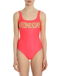 Alberta Ferretti - Wednesday Lycra One Piece Swimsuit - Lyst