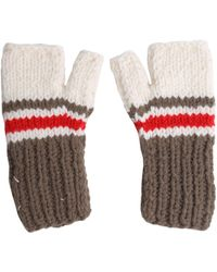 Maison Margiela - Wool Blend Fingerless Gloves - Lyst
