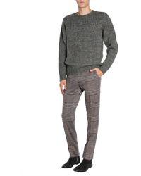 Etro - Wool Blend Round Neck Jumper - Lyst