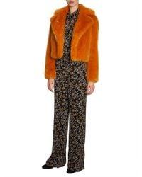 MICHAEL Michael Kors - Short Fur Jacket - Lyst