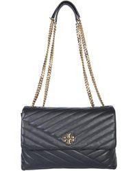 Tory Burch - Kira Leather Bag Chevron - Lyst