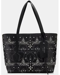 Jimmy Choo - Twist East West Studded Leather Tote - Lyst