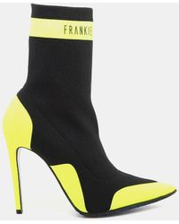 ffc269ce7632f Frankie Morello - Vicky Elastic Ankle Bootie - Lyst