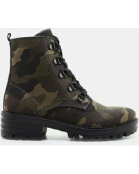 Kendall + Kylie - Epic Combat Boot - Lyst