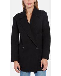 Line - Ingrid Boiled Wool Coat - Lyst