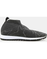 Jimmy Choo - Norway Knit Sock Sneaker - Lyst