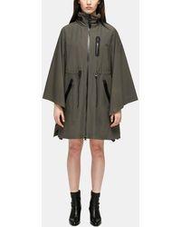 Mackage - Sanna Hooded Rain Cape | Army - Lyst