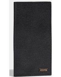 2d8288696786 Ferragamo - Pebble Grain Calfskin Breast Pocket Wallet - Lyst