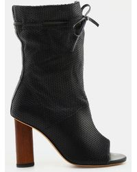 Iro Jeans Dairel Perforated Open Toe Bootie (Women's) yLf7Z4G