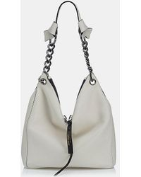Jimmy Choo - Raven Small Nappa Leather Shoulder Bag - Lyst