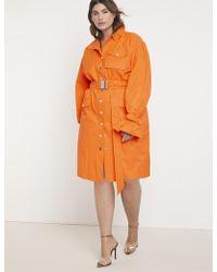 Eloquii - Priscilla Ono X Belted Cargo Dress - Lyst