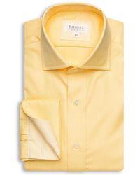 Emmett London - Yellow Royal Oxford Shirt - Lyst