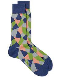 Ayame Socks - Terracotta Sock - Lyst