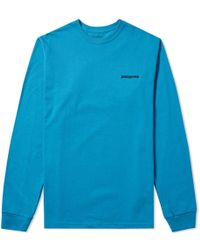 Patagonia - Long Sleeve P6 Logo Tee - Lyst