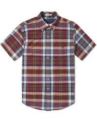 Polo Ralph Lauren - Short Sleeve Madras Shirt - Lyst