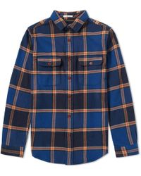 Gant Rugger - Check Twill Overshirt - Lyst