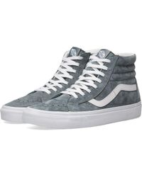 1aec50761c89 Lyst - Vans Sk8-hi Reissue Zip Green Skate Shoe in Green for Men