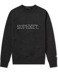 Sophnet - Embroidery Logo Crew Sweat - Lyst