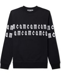 McQ - Mcq By Alexander Mcqueen Repeat Logo Embroidered Sweat - Lyst