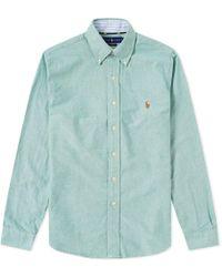Polo Ralph Lauren - Slim Fit Button Down Oxford Shirt - Lyst