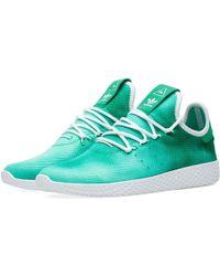 8ecb46243 Adidas X Pharrell Williams Hu Holi Tennis in Blue for Men - Lyst