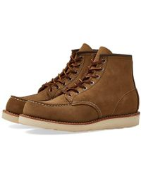 """Red Wing - 8881 Heritage Work 6"""" Moc Toe Boot - Lyst"""