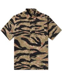 Sophnet - Short Sleeve Tiger Camouflage Shirt - Lyst