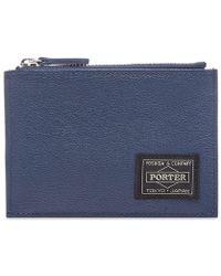 Head Porter Henderson Zip Wallet - Blue