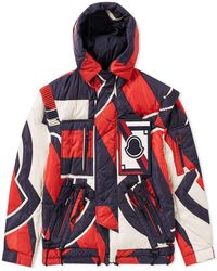 Moncler - X Craig Green Patchwork Laplace Padded Hooded Jacket - Lyst