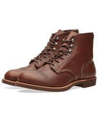 """Red Wing - 8111 Heritage 6"""" Iron Ranger Boot - Lyst"""