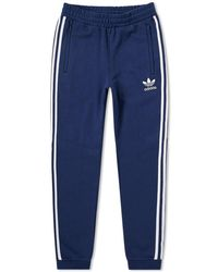 Adidas | Cuffed 3 Stripe Track Pant | Lyst