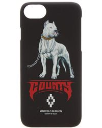 Marcelo Burlon - Dogo Barcode Iphone 8 Case - Lyst