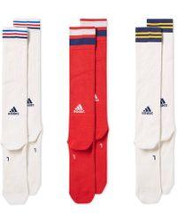adidas Originals - Adidas X Pharrell Williams Us Open Knee Sock 3 Pack - Lyst