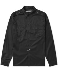 Givenchy - Military Overshirt - Lyst