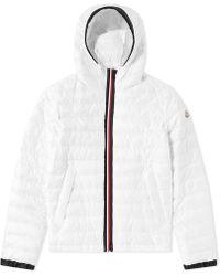 Moncler - Morvan Double Zip Tricolour Placket Jacket - Lyst