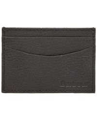 Barbour - Grain Leather Card Holder - Lyst