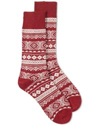 Barbour - Onso Fair Isle Sock - Lyst