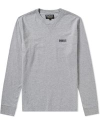 Barbour - International Long Sleeve Logo Tee - Lyst