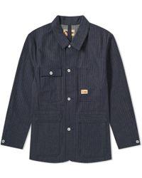 6767b1db83f3 On sale Nigel Cabourn - X Lybro Work Jacket - Lyst
