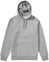 Carhartt WIP | Carhartt Hooded Chase Sweat | Lyst