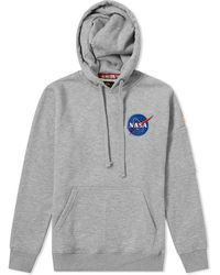 Alpha Industries - Space Shuttle Hoody - End. Exclusive - Lyst