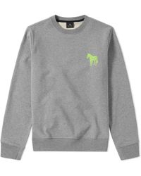 Paul Smith - Embroidered Zebra Sweat - Lyst