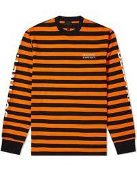 Belstaff - X Sophnet. Long Sleeve Brownstone Stripe Tee - Lyst