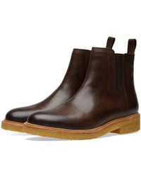Zespà - Veg Tan Leather Chelsea Boot - Lyst