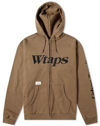WTAPS - Academy Zip Up Hoody - Lyst