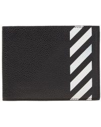 Off-White c/o Virgil Abloh - Diagonals Billfold Wallet - Lyst