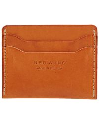 Red Wing - Card Holder - Lyst