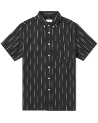 Saturdays NYC - Short Sleeve Esquina Eclat Shirt - Lyst